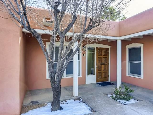 1421 Luisa Street Suite L, Santa Fe, NM 87505 (MLS #202005253) :: The Very Best of Santa Fe