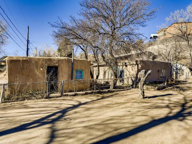 535 & 535 1/2 Hillside, Santa Fe, NM 87501 (MLS #202100079) :: Neil Lyon Group | Sotheby's International Realty