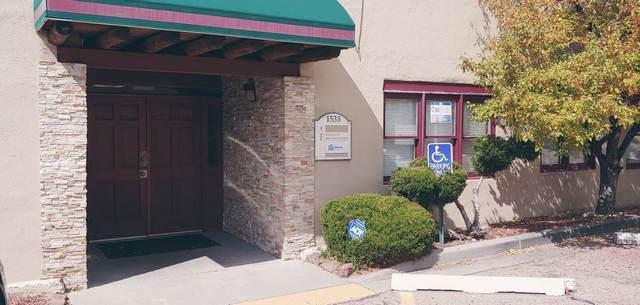 1533 Saint Francis Unit E, Santa Fe, NM 87505 (MLS #202100216) :: Summit Group Real Estate Professionals