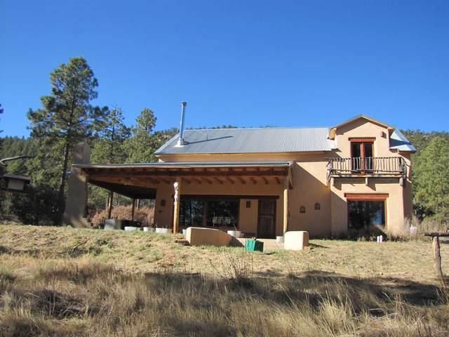 161 Avenida Ponderosa, Glorieta, NM 87535 (MLS #202100224) :: Berkshire Hathaway HomeServices Santa Fe Real Estate