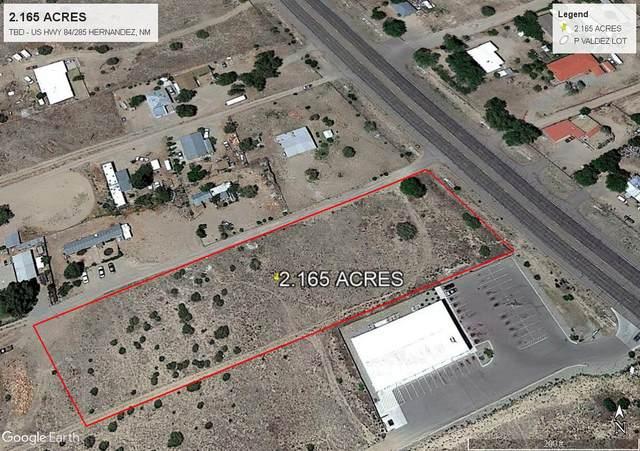TBD Us Highway 84/285, Hernandez, NM 87537 (MLS #202100228) :: The Very Best of Santa Fe