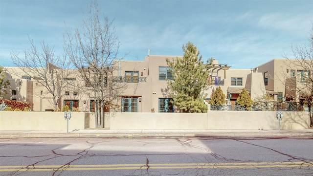 103 Catron #12, Santa Fe, NM 87501 (MLS #202100407) :: The Very Best of Santa Fe
