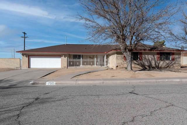 7001 NE Aztec, Albuquerque, NM 87110 (MLS #202100629) :: Berkshire Hathaway HomeServices Santa Fe Real Estate