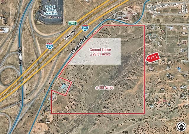 0 Dinosaur Trail, Santa Fe, NM 87508 (MLS #202100647) :: Berkshire Hathaway HomeServices Santa Fe Real Estate