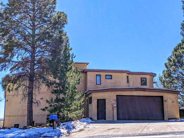 495 Camino Cereza, Los Alamos, NM 87544 (MLS #202100666) :: Summit Group Real Estate Professionals