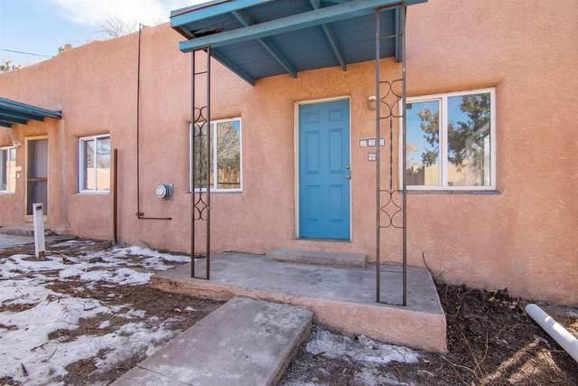 134 & 136 W Berger, Santa Fe, NM 87505 (MLS #202100740) :: Summit Group Real Estate Professionals