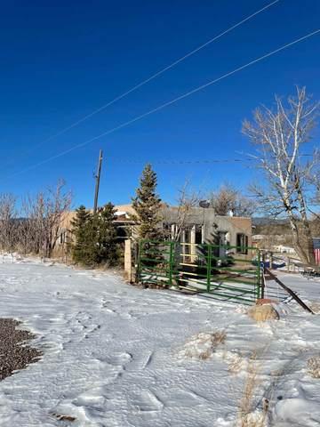 168 Old Las Vegas Hwy, Rowe, NM 87562 (MLS #202100864) :: Summit Group Real Estate Professionals