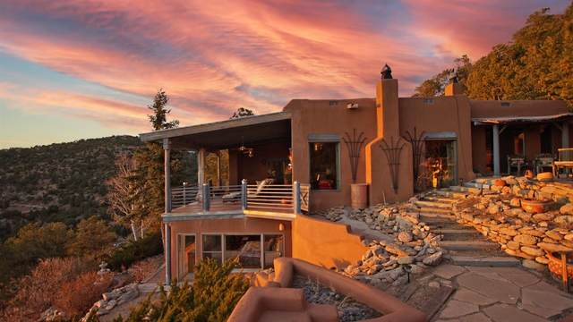 43 Overlook Road, Santa Fe, NM 87505 (MLS #202100865) :: Neil Lyon Group | Sotheby's International Realty