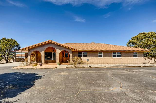 50 Calle Cantando, Santa Fe, NM 87508 (MLS #202101195) :: Stephanie Hamilton Real Estate