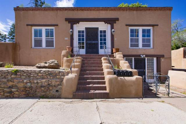 114 E Buena Vista 1 2 3 4, Santa Fe, NM 87505 (MLS #202101990) :: Berkshire Hathaway HomeServices Santa Fe Real Estate