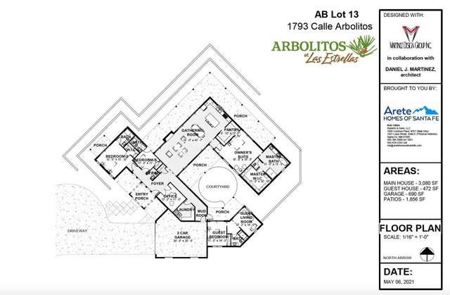 1793 Calle Arbolitos, Santa Fe, NM 87506 (MLS #202102013) :: Stephanie Hamilton Real Estate