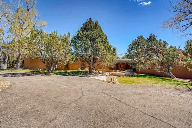 10 E Old Agua Fria Rd, Santa Fe, NM 87508 (MLS #202102102) :: Summit Group Real Estate Professionals