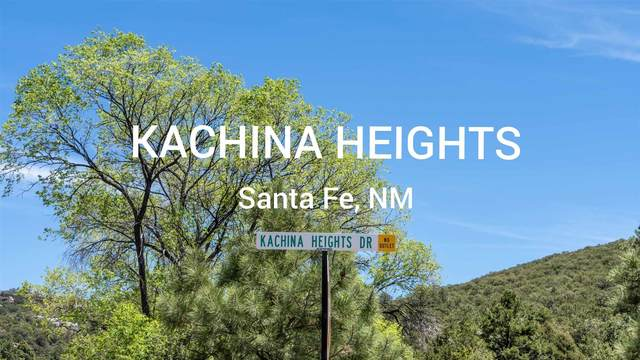 1820 Kachina Heights Lot 8, Santa Fe, NM 87501 (MLS #202102183) :: The Very Best of Santa Fe