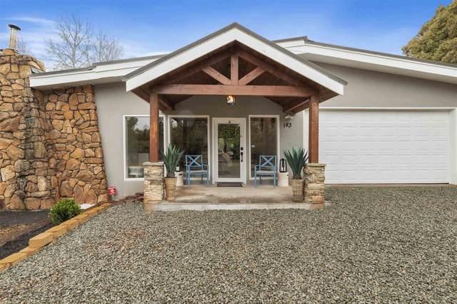 143-A Avenida Ponderosa, Glorieta, NM 87535 (MLS #202102380) :: Berkshire Hathaway HomeServices Santa Fe Real Estate