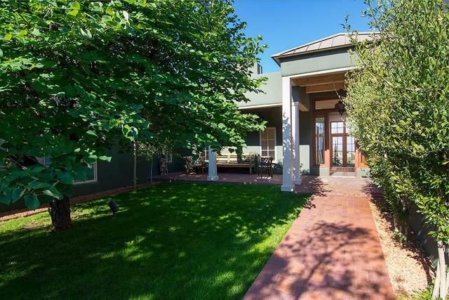 1244 Camino De Cruz Blanca, Santa Fe, NM 87505 (MLS #202102429) :: Berkshire Hathaway HomeServices Santa Fe Real Estate