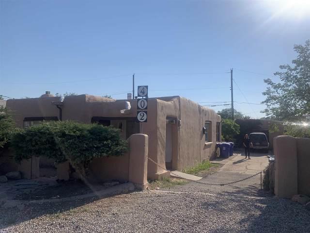402 S Saint Francis Dr., Santa Fe, NM 87501 (MLS #202102475) :: The Very Best of Santa Fe