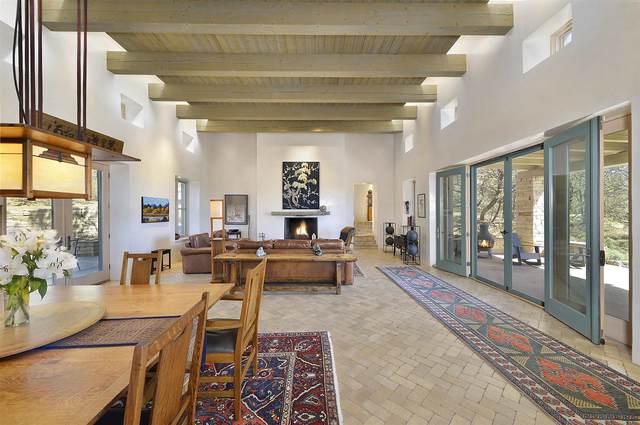 1300 Camino De Cruz Blanca, Santa Fe, NM 87505 (MLS #202102547) :: The Very Best of Santa Fe