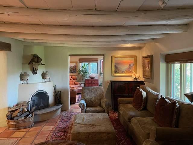 1237 Cerro Gordo Road, Santa Fe, NM 87501 (MLS #202102575) :: Stephanie Hamilton Real Estate