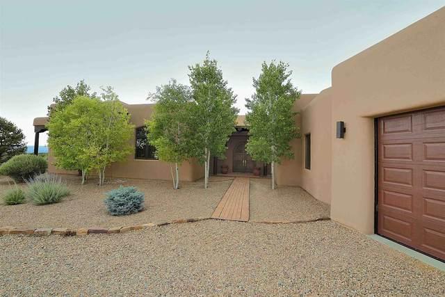 20 Black Mesa, Santa Fe, NM 87506 (MLS #202102586) :: Stephanie Hamilton Real Estate