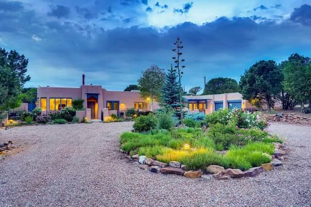 3 Tano Vida, Santa Fe, NM 87506 (MLS #202102587) :: The Very Best of Santa Fe
