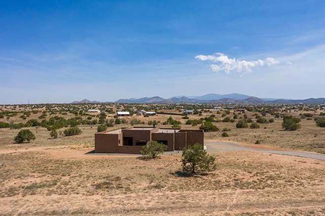 41 Spur Ranch, Lamy, NM 87540 (MLS #202102588) :: The Very Best of Santa Fe