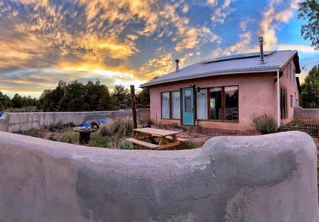 77 North Road, Carson, NM 87517 (MLS #202102676) :: Berkshire Hathaway HomeServices Santa Fe Real Estate