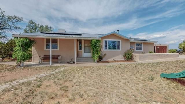 97 Arroyo Coyote, Santa Fe, NM 87508 (MLS #202102707) :: Berkshire Hathaway HomeServices Santa Fe Real Estate