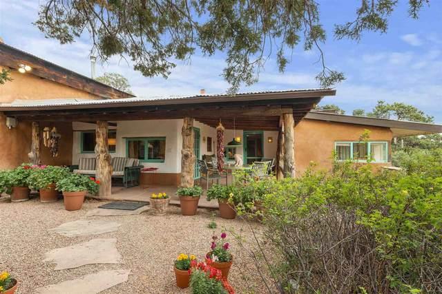 22 San Sebastian Road, Santa Fe, NM 87508 (MLS #202102751) :: Summit Group Real Estate Professionals