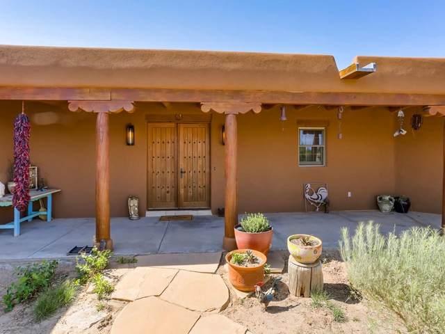 54 Don Jose Loop, Santa Fe, NM 87508 (MLS #202102756) :: The Very Best of Santa Fe