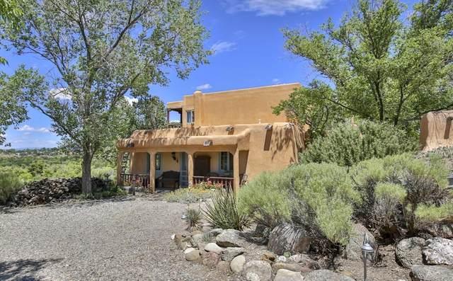 7160 State Rd 518 Unit 4, Taos, NM 87571 (MLS #202102889) :: The Very Best of Santa Fe