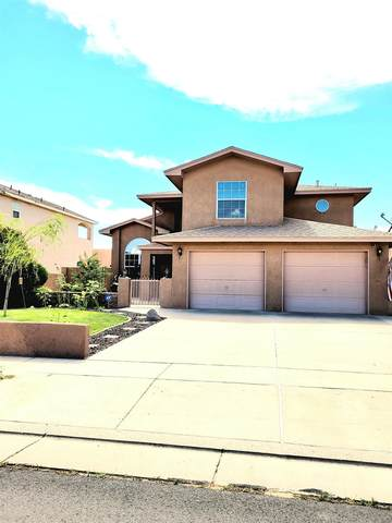 6215 NW Eagle Eye Dr, Albuquerque, NM 87120 (MLS #202102966) :: The Very Best of Santa Fe