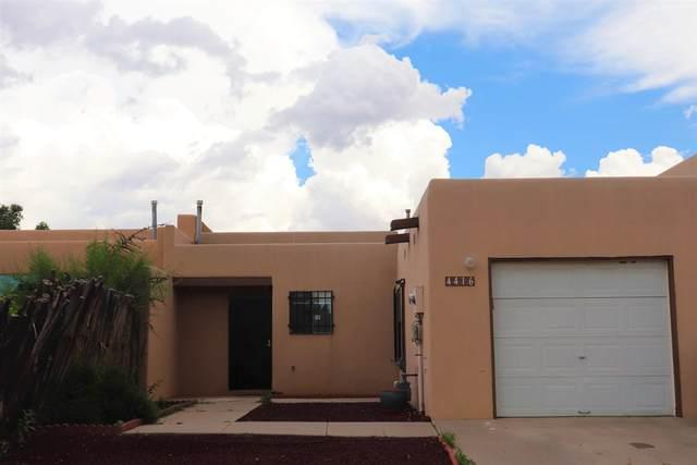 4416 Rosalinda, Santa Fe, NM 87507 (MLS #202103004) :: The Very Best of Santa Fe
