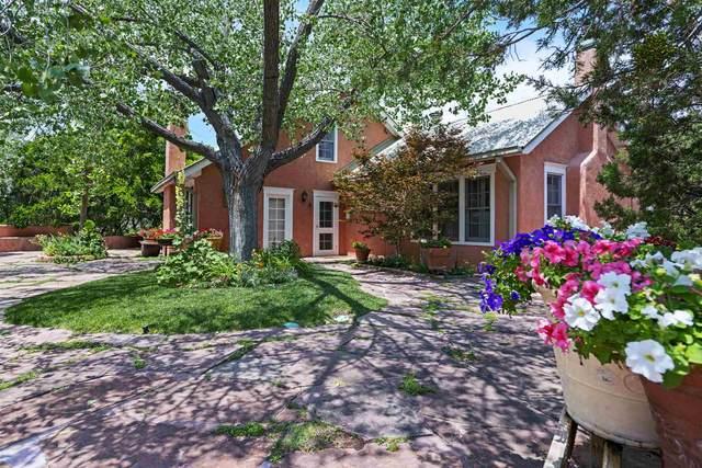 23 Vuelta Muerdago, Santa Fe, NM 87506 (MLS #202103132) :: Berkshire Hathaway HomeServices Santa Fe Real Estate