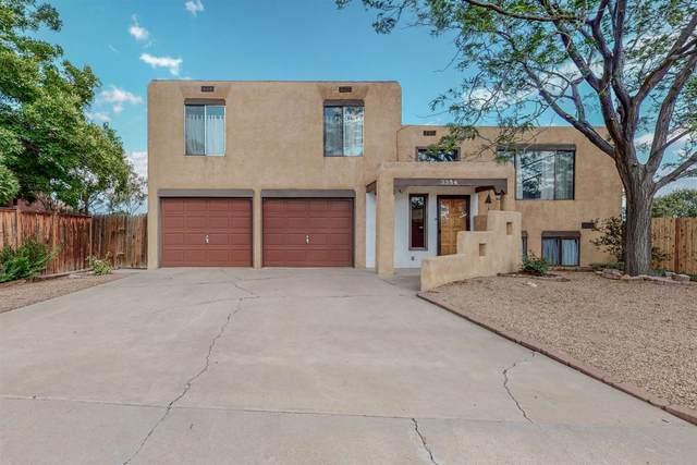 3354 La Avenida De San Marcos, Santa Fe, NM 87507 (MLS #202103156) :: The Very Best of Santa Fe