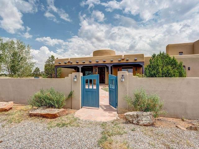 64 Cielo Tranquilo, Santa Fe, NM 87508 (MLS #202103282) :: Neil Lyon Group | Sotheby's International Realty