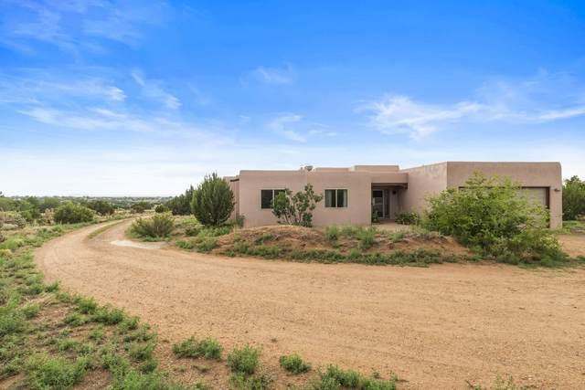 91 Encantado Loop, Santa Fe, NM 87508 (MLS #202103308) :: Summit Group Real Estate Professionals