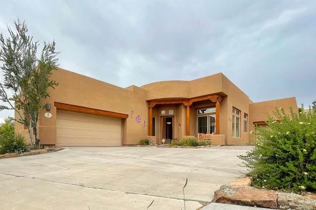 78 E Saddleback Mesa, Santa Fe, NM 87508 (MLS #202103316) :: Neil Lyon Group | Sotheby's International Realty