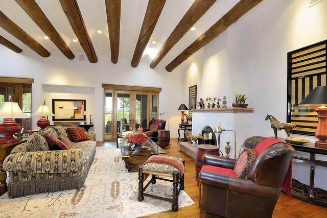 8 Calle Cimarron, Santa Fe, NM 87506 (MLS #202103317) :: Stephanie Hamilton Real Estate