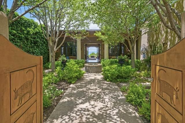 16 Vista Tesuque, Santa Fe, NM 87506 (MLS #202103351) :: Summit Group Real Estate Professionals