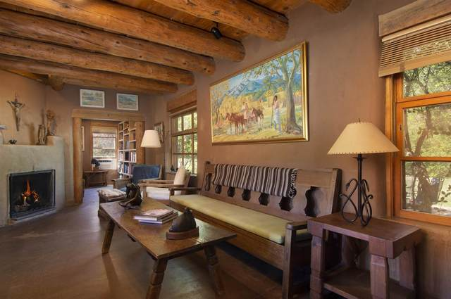 225 and 233 Tesuque Village Rd, Santa Fe, NM 87506 (MLS #202103430) :: Neil Lyon Group | Sotheby's International Realty