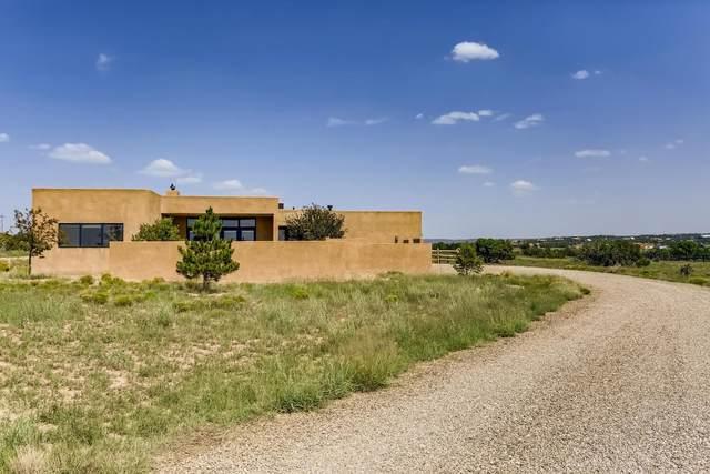 30 Camino San Lucas, Lamy, NM 87540 (MLS #202103557) :: Stephanie Hamilton Real Estate