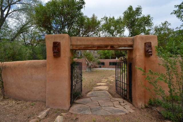 1571 Bishop's Lodge Road, Tesuque, NM 87574 (MLS #202103577) :: Neil Lyon Group | Sotheby's International Realty