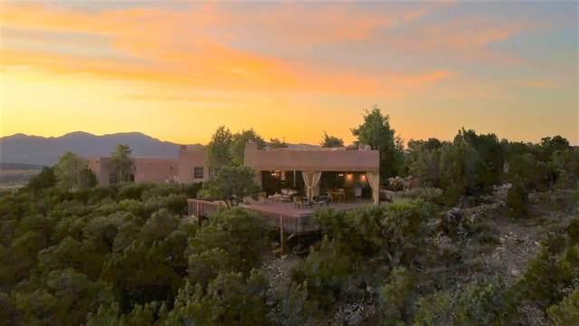 34 Prado Vista Drive, Sandia Park, NM 87047 (MLS #202103606) :: Stephanie Hamilton Real Estate