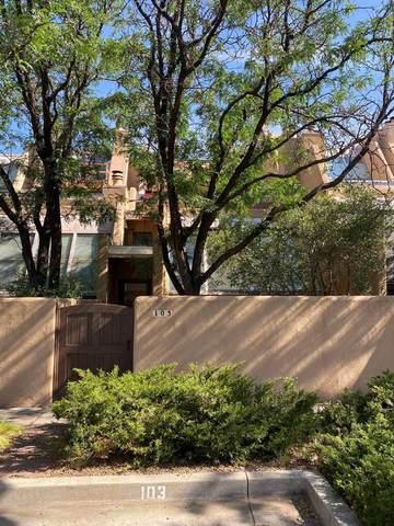 814 Camino De Monte Rey #103, Santa Fe, NM 87505 (MLS #202103645) :: Berkshire Hathaway HomeServices Santa Fe Real Estate