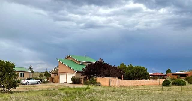 40 Taft, Tijeras, NM 87047 (MLS #202103851) :: Summit Group Real Estate Professionals