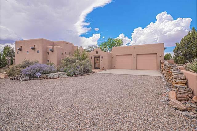 60 Tierra Sabrosa, Lamy, NM 87540 (MLS #202103864) :: Berkshire Hathaway HomeServices Santa Fe Real Estate