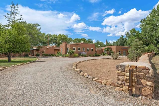 12 La Vega, Galisteo, NM 87540 (MLS #202103886) :: Neil Lyon Group | Sotheby's International Realty