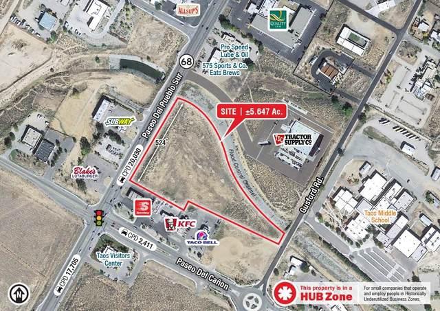0 Seq Paseo Del Pueblo Sur & Paseo Del Canon E, Taos, NM 87571 (MLS #202103976) :: Neil Lyon Group | Sotheby's International Realty
