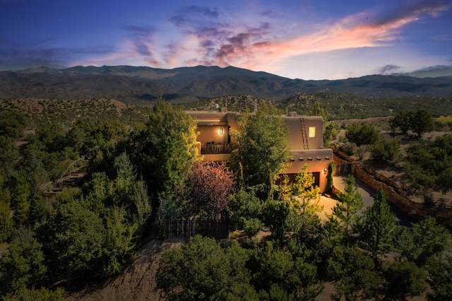 59 Lomas De Tesuque, Santa Fe, NM 87506 (MLS #202104641) :: Stephanie Hamilton Real Estate