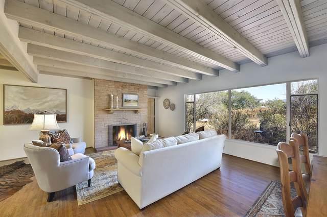 645 E Barcelona Rd, Santa Fe, NM 87505 (MLS #202104668) :: Neil Lyon Group | Sotheby's International Realty